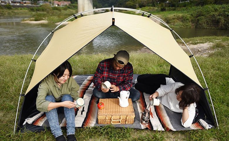 サカナシェードが子供連れピクニックにおすすめな4つの理由。