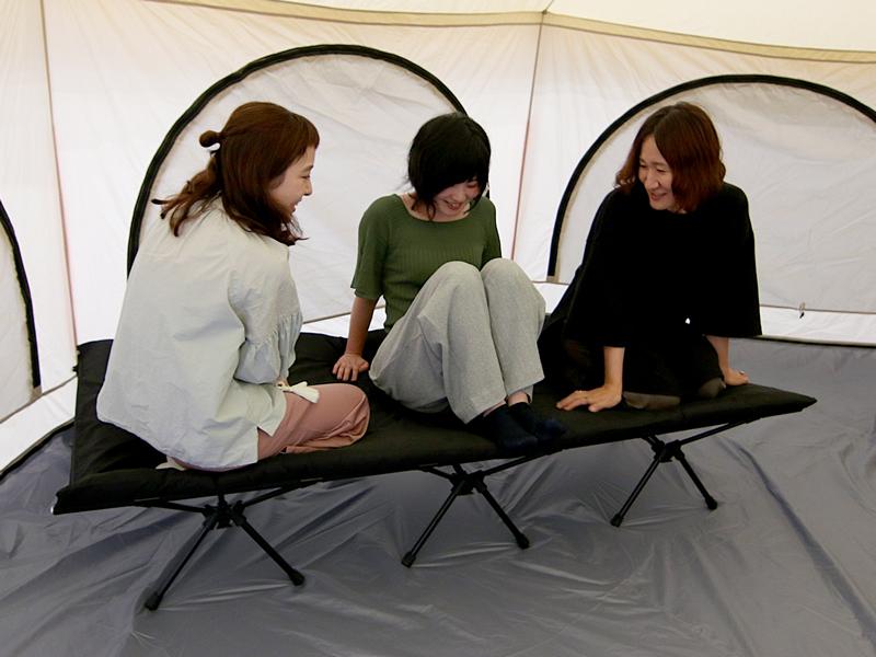 ハンペンインザスカイのメインの特徴(3人座れる耐荷重)