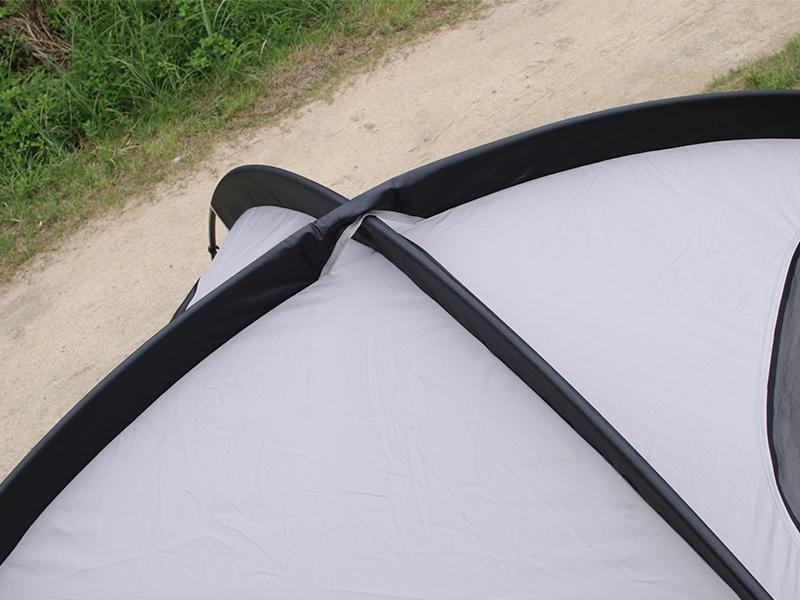ザ・テントLのメインの特徴(クロスフレーム型テント)