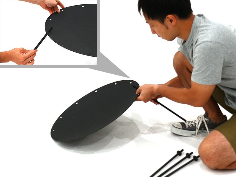 ビートルくんの組立/設営方法