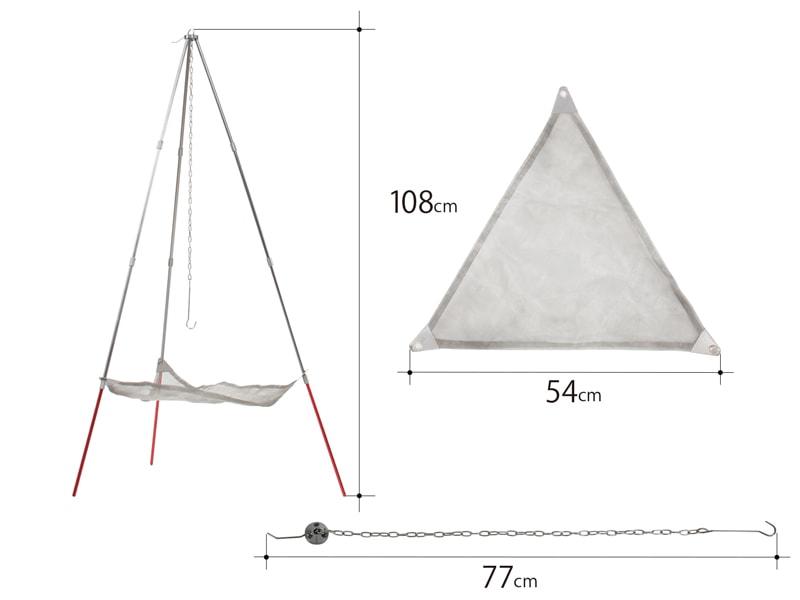 ライダーズファイアクレードルのサイズ画像