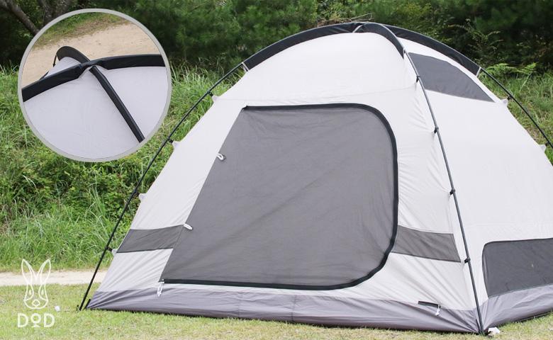 「ザ・テント」と「ザ・ワンタッチテント」の比較2