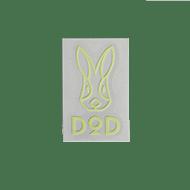 DODロゴ蓄光ステッカーS