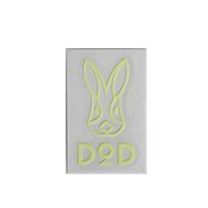 DODロゴ蓄光ステッカーSの製品画像