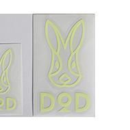 DODロゴ蓄光ステッカーMの製品画像