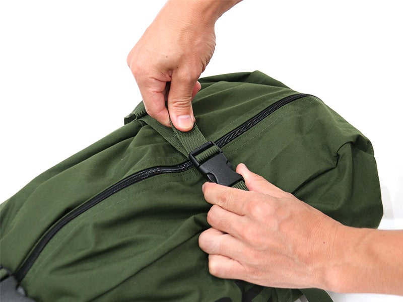 パップフーテント2の各部の特徴(専用コンプレッションバッグ)
