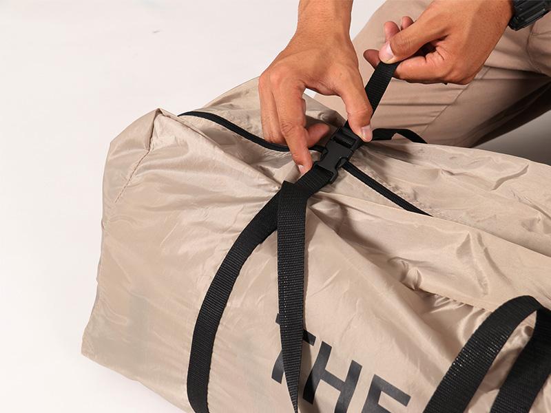 ザ・テントMの各部の特徴(収納しやすいキャリーバッグ)