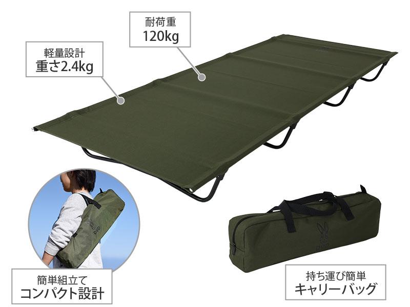 バッグインベッドの主な特徴