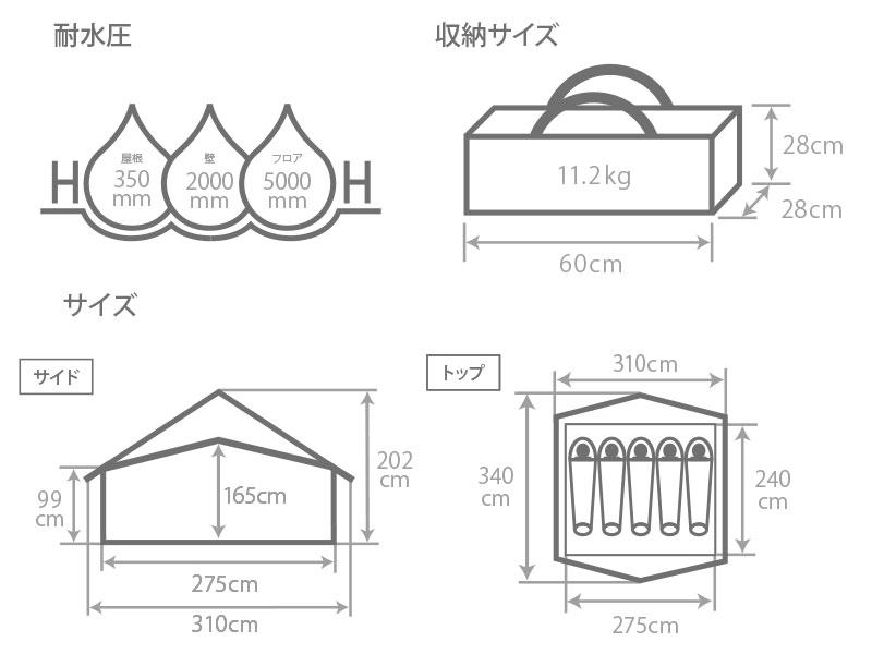 エイテントのサイズ画像