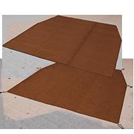 カマボコテント3S用マットシートセットの製品画像