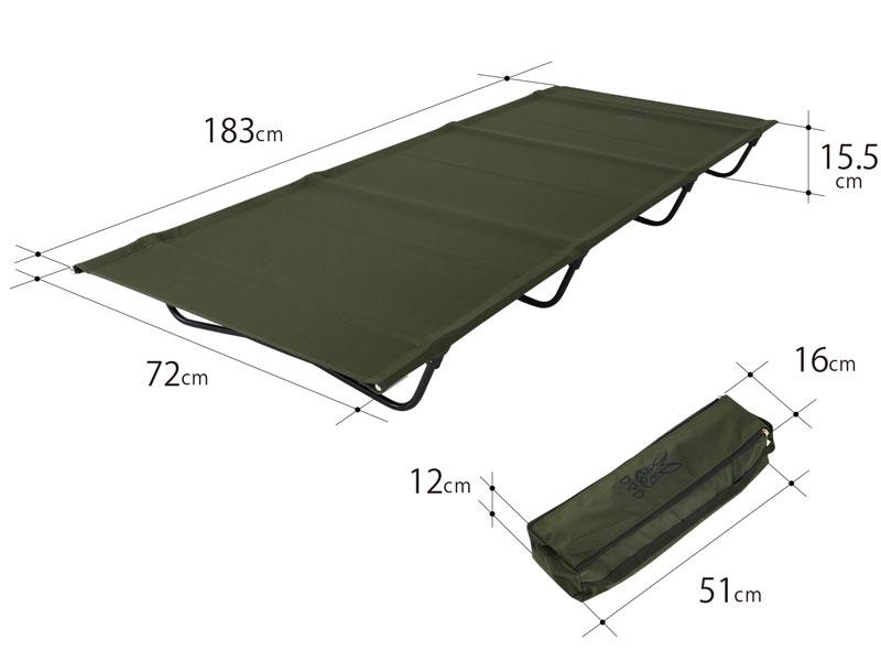 バッグインベッドのサイズ画像