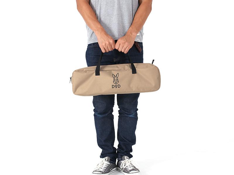 バッグインベッドの各部の特徴(専用キャリーバッグ)
