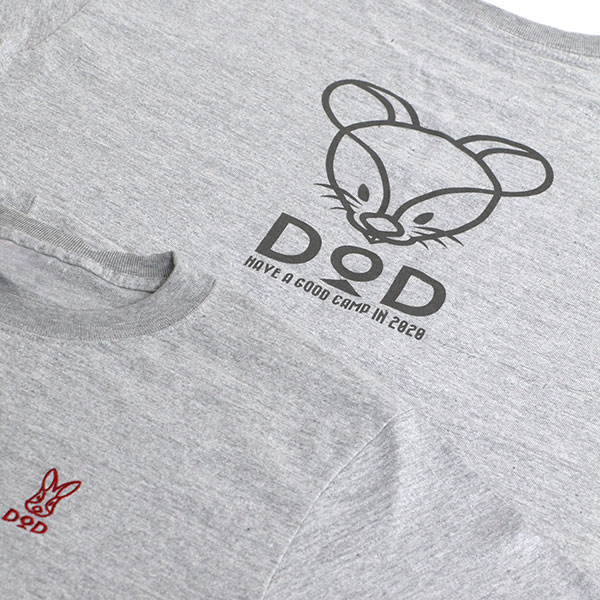 干支Tシャツ 2020年ネズミ DOD