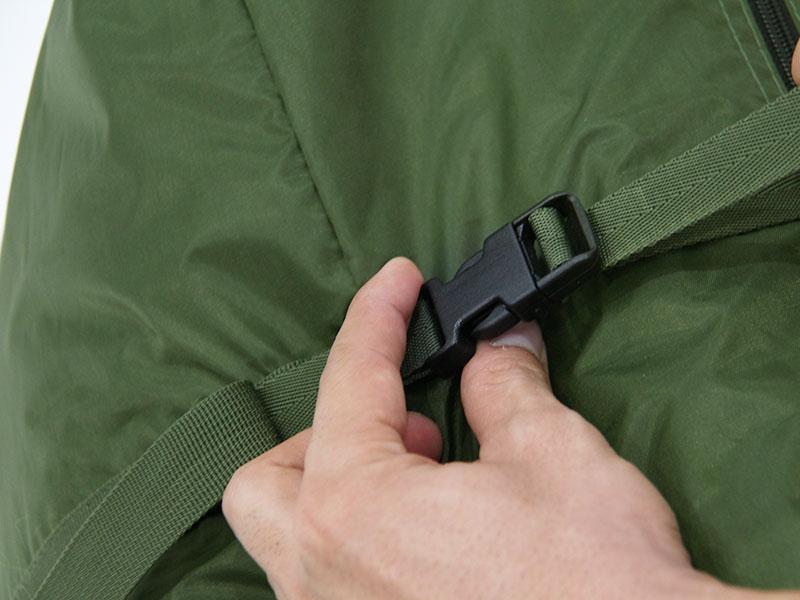 カマボコテント3Sの各部の特徴(専用コンプレッションバッグ)