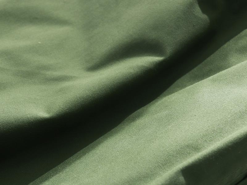 カマボコシールドMのメインの特徴(ポリコットン生地)