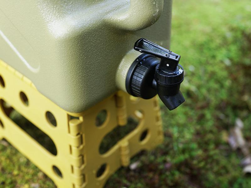 フツーノタンクのメインの特徴(調節しやすい蛇口)