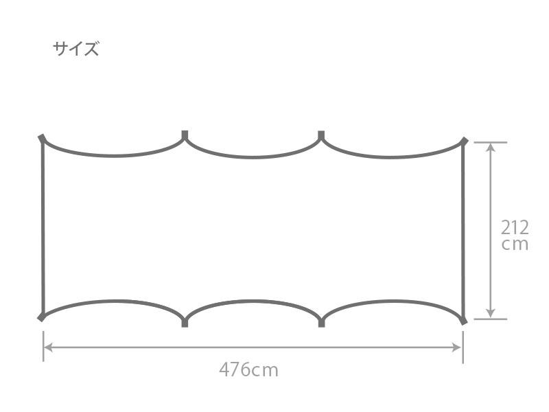 カマボコシールドMのサイズ画像