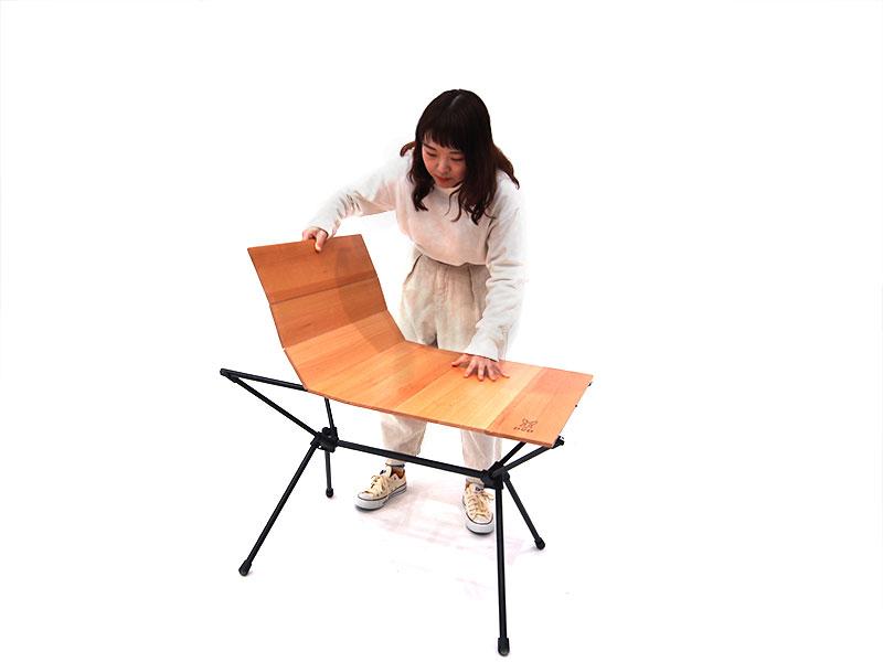 ジミニーテーブルの組立/設営方法
