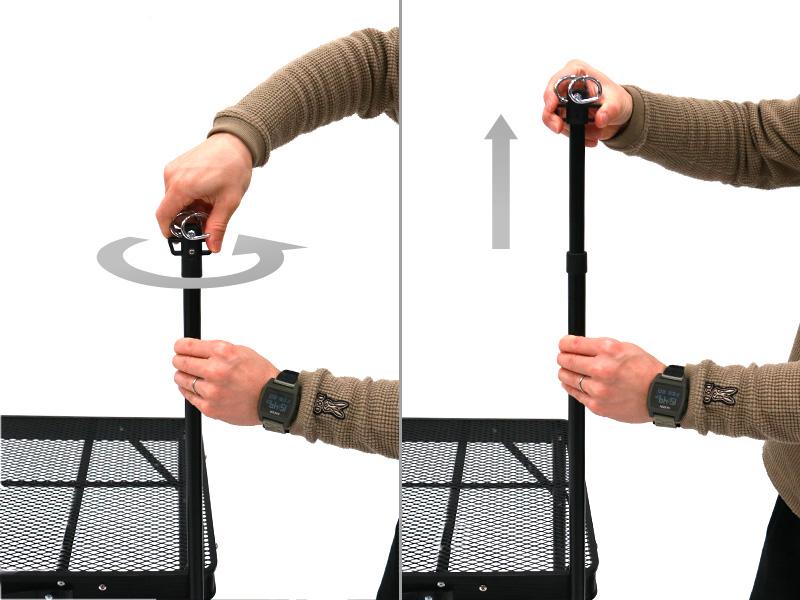 クッキングキングランタンハンガー取り付け方法画像
