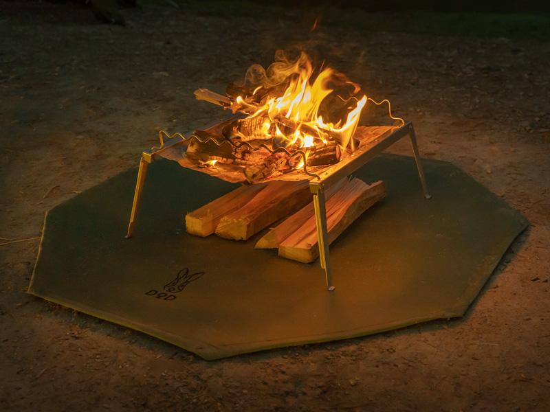 タキビバビデブーのメインの特徴(断熱性アップ&薪の乾燥に)