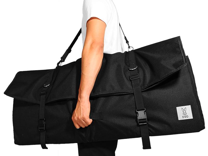 テキーラロールバッグのメインの特徴(運びやすい補助取っ手)