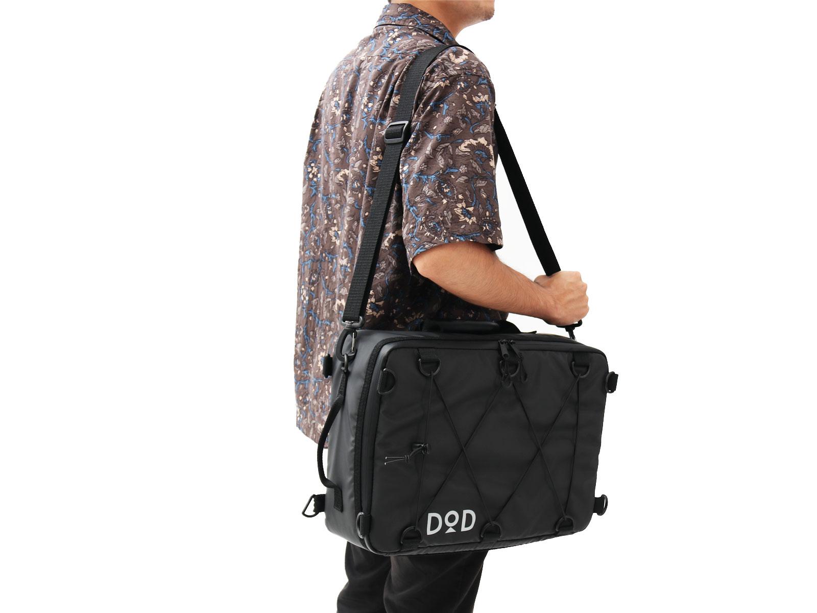 ソフトくらこ(10)の各部の特徴(肩掛けバッグの様に使える。肩掛け用ベルト付属。)
