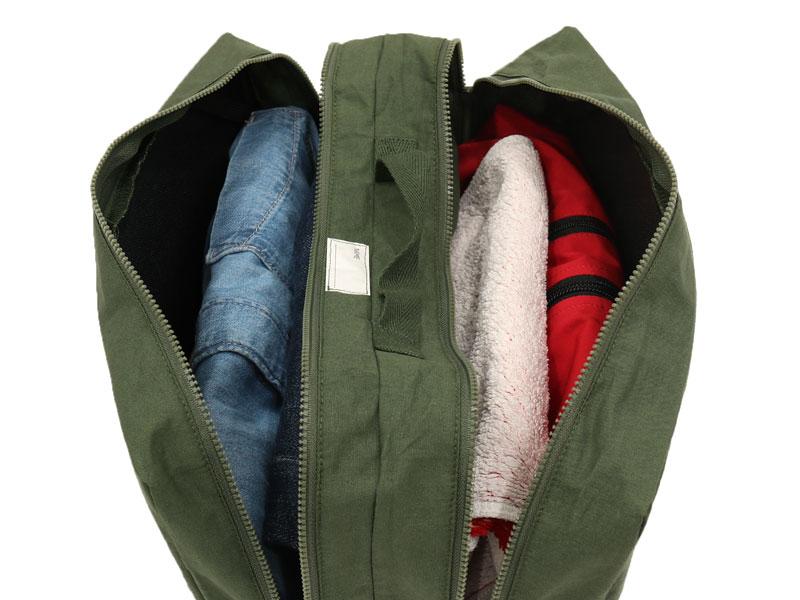 キガエルヤーツ(4色セット)のメインの特徴(汚れた服を分けるダブルポケット仕様)