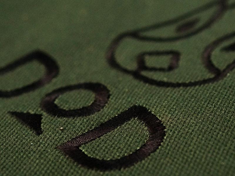 タキビコットのメインの特徴(火の粉に強い帆布)