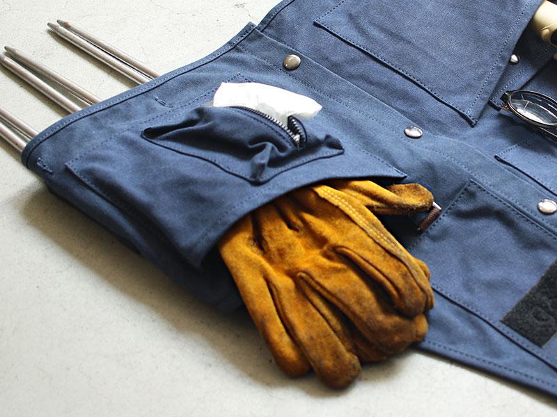 ベベベノヴェストの各部の特徴(5.大型ポケット)