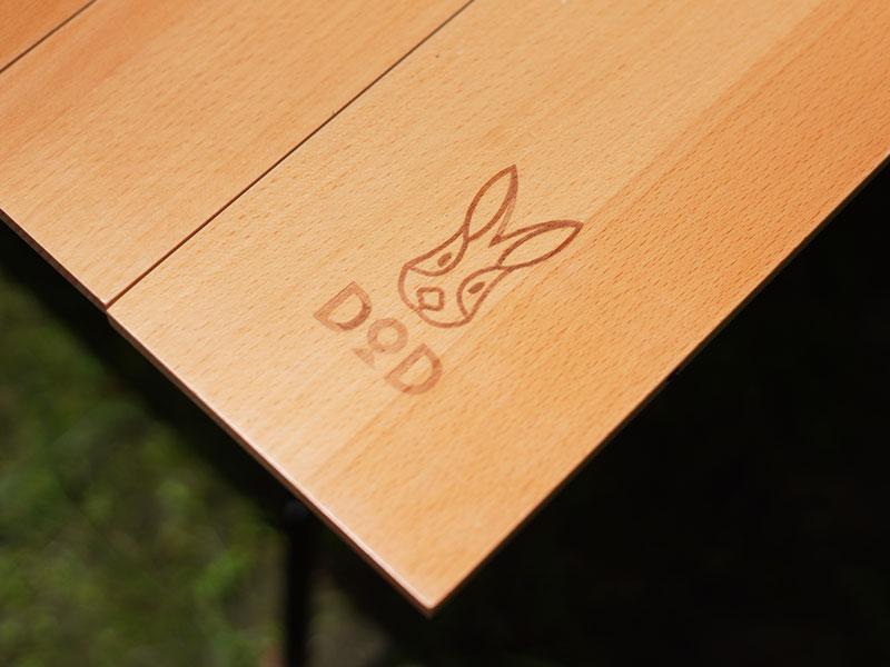 キャナリーテーブルMの各部の特徴(ウッド天板)