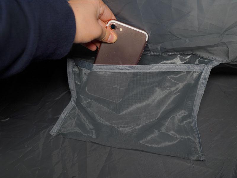 ムシャテントの各部の特徴(インナーポケット)