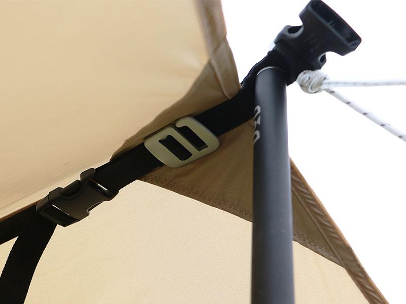 オーマイロンリナイイッツマイライフタープの各部の特徴(ショウネンテントと接続できるGフック)