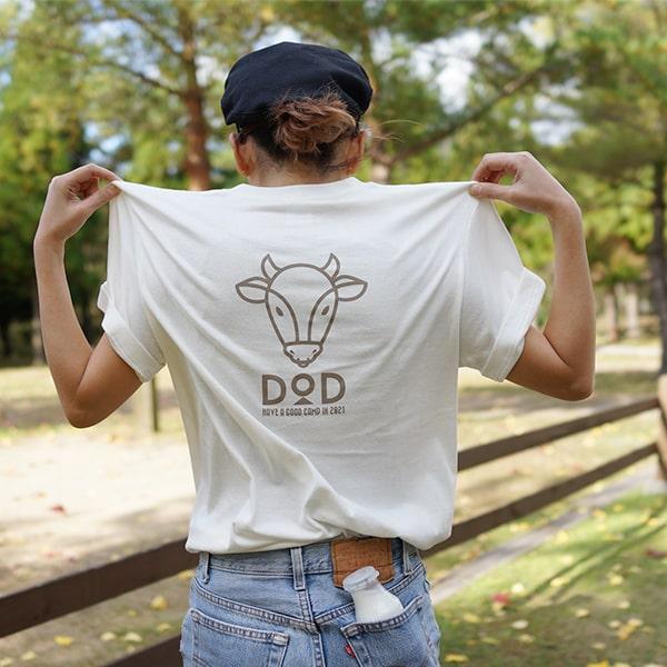 干支Tシャツ 2021年ウシ DOD