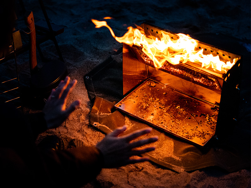 シバレンナのメインの特徴(熱反射の効率をさらに高める遮熱板)