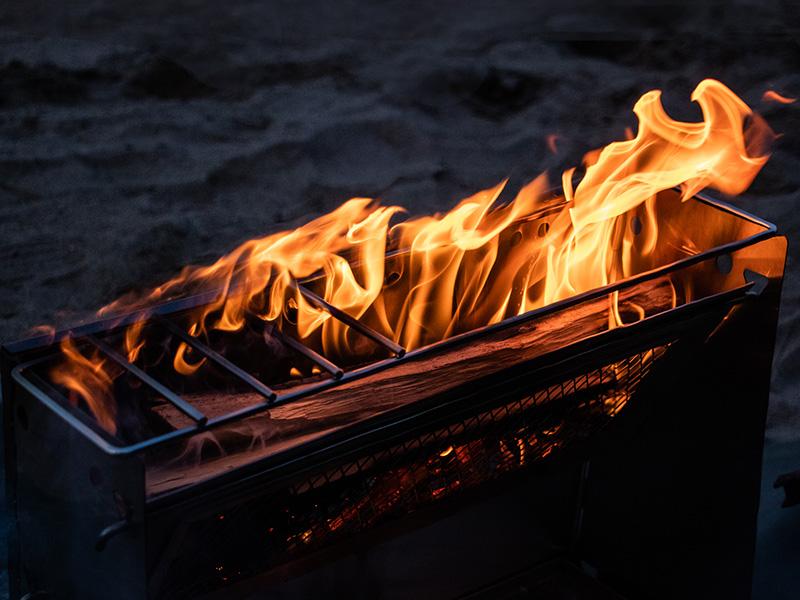 シバレンナのメインの特徴(燃焼効率を高める二次燃焼ホール)