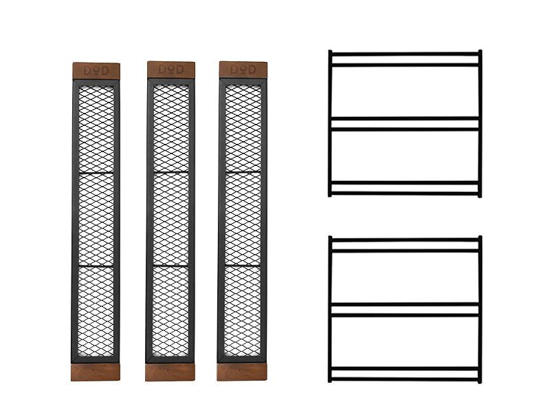 テキーラテーブルの各部の特徴(フラット収納)
