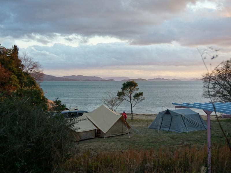 画像1:前島キャンプ