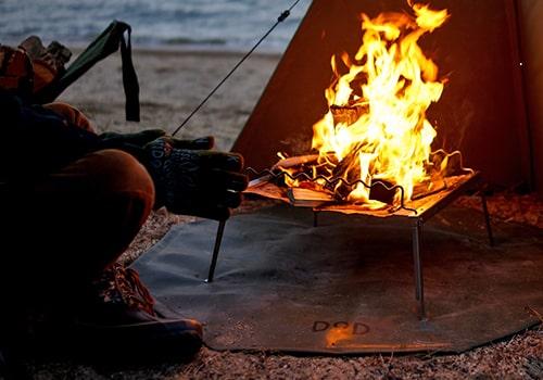 焚き火&BBQ画像
